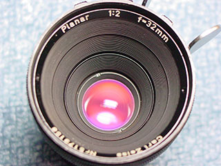 Carl Zeiss Planar 2/32mm T2.2