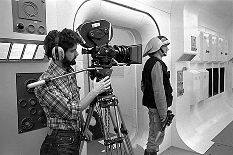 George Lucas shooting with Pan-ARRI 35IIC