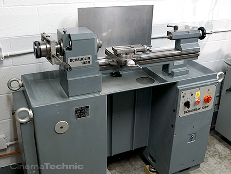 Schaublin 102N Super Precision Swiss Lathe For Sale